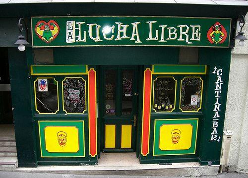 Paris-bars-La Lucha Libre
